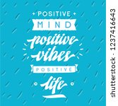 inspirational quote  motivation.... | Shutterstock .eps vector #1237416643