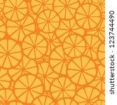 orange juice pattern  orange   Shutterstock .eps vector #123744490