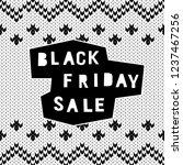 black friday sale event theme.... | Shutterstock .eps vector #1237467256