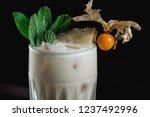 pina colada cocktail. exemplary ... | Shutterstock . vector #1237492996
