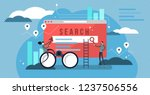 search results vector... | Shutterstock .eps vector #1237506556