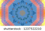 geometric design  mosaic of a...   Shutterstock .eps vector #1237522210