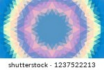geometric design  mosaic of a...   Shutterstock .eps vector #1237522213