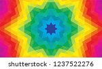 geometric design  mosaic of a... | Shutterstock .eps vector #1237522276