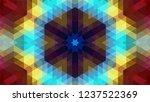 geometric design  mosaic of a...   Shutterstock .eps vector #1237522369