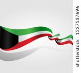 kuwait national day | Shutterstock .eps vector #1237537696