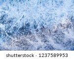 frozen water level   details of ... | Shutterstock . vector #1237589953