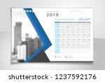 2019 january  illustration... | Shutterstock .eps vector #1237592176