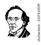 hans christian andersen  a... | Shutterstock . vector #1237610539