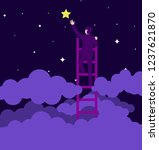 success motivation concept  man ... | Shutterstock .eps vector #1237621870