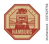 stamp with warehouse district... | Shutterstock .eps vector #1237629706