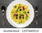 final phoho of ready meal.... | Shutterstock . vector #1237660513