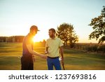 shot of a man playing a round... | Shutterstock . vector #1237693816