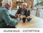 cropped shot of an affectionate ... | Shutterstock . vector #1237697416