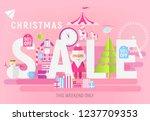 modern flat design concept of... | Shutterstock .eps vector #1237709353