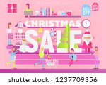 modern flat design concept of... | Shutterstock .eps vector #1237709356