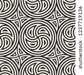 seamless vector pattern... | Shutterstock .eps vector #1237719136