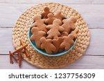 bowl full of homemade... | Shutterstock . vector #1237756309
