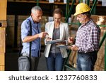 team of sale managers and... | Shutterstock . vector #1237760833
