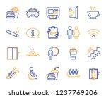 public services  wifi line... | Shutterstock .eps vector #1237769206