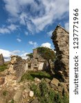 ruins of croft at moss of... | Shutterstock . vector #1237771966