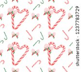 eps10wrapping paper for gifts... | Shutterstock .eps vector #1237783729