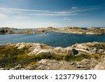 sea landscape of a rocky...   Shutterstock . vector #1237796170