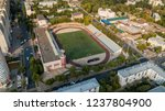 city view with stadium  aerial... | Shutterstock . vector #1237804900