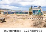 earthship community and village ... | Shutterstock . vector #1237809973