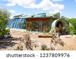 earthship community and village ... | Shutterstock . vector #1237809976