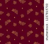 winery vector seamless pattern...   Shutterstock .eps vector #1237815703