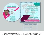 sacred display layouts design... | Shutterstock .eps vector #1237839049