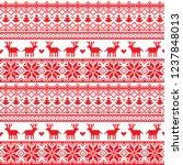 pixel pattern seamless...   Shutterstock .eps vector #1237848013