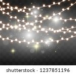 christmas bright  beautiful... | Shutterstock .eps vector #1237851196