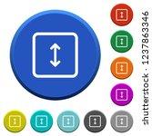 adjust object height round... | Shutterstock .eps vector #1237863346
