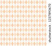 orange argyle seamless baby... | Shutterstock .eps vector #1237893670