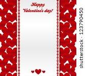 Vector Valentrines Day Greetin...