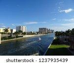 hollywood  florida  waterways | Shutterstock . vector #1237935439