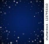 sparse snowfall christmas... | Shutterstock .eps vector #1237953310
