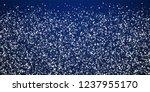 random white dots christmas... | Shutterstock .eps vector #1237955170