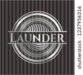 launder silvery shiny emblem   Shutterstock .eps vector #1237956316