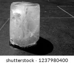 ice texture as background   ice ... | Shutterstock . vector #1237980400