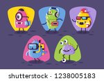 collection student  footballer  ...   Shutterstock .eps vector #1238005183