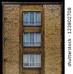 old style building facade | Shutterstock . vector #123802708