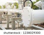 pipeline skid measuring station ... | Shutterstock . vector #1238029300