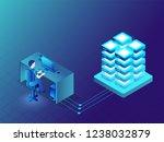 data management concept based...   Shutterstock .eps vector #1238032879