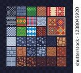 different texture tile seamless ... | Shutterstock .eps vector #1238045920