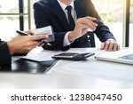 business team trader or broker... | Shutterstock . vector #1238047450