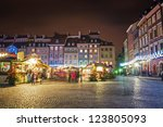 the streets of the old city... | Shutterstock . vector #123805093
