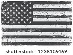 grunge usa flag.vector dirty... | Shutterstock .eps vector #1238106469